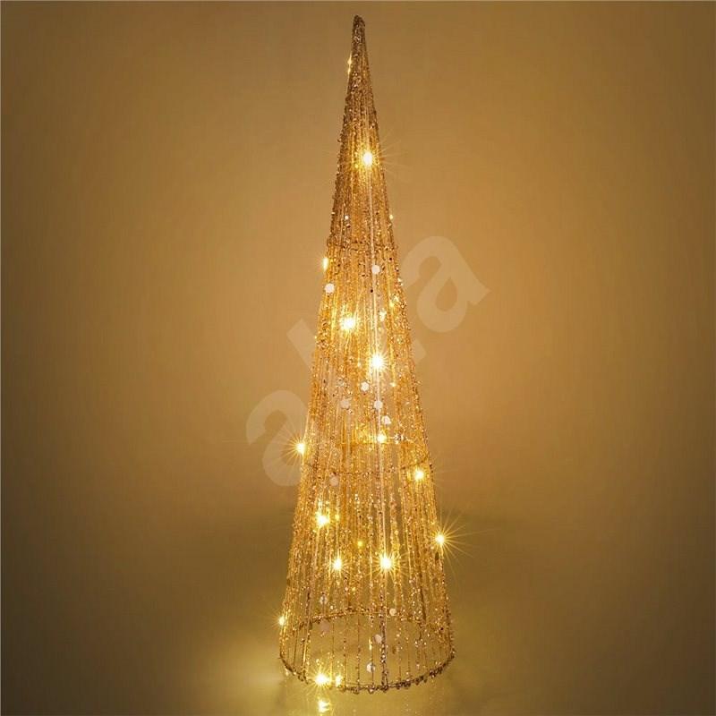 RETLUX RXL 329 kužel třpyt. 15LED 50cm    - Vánoční osvětlení