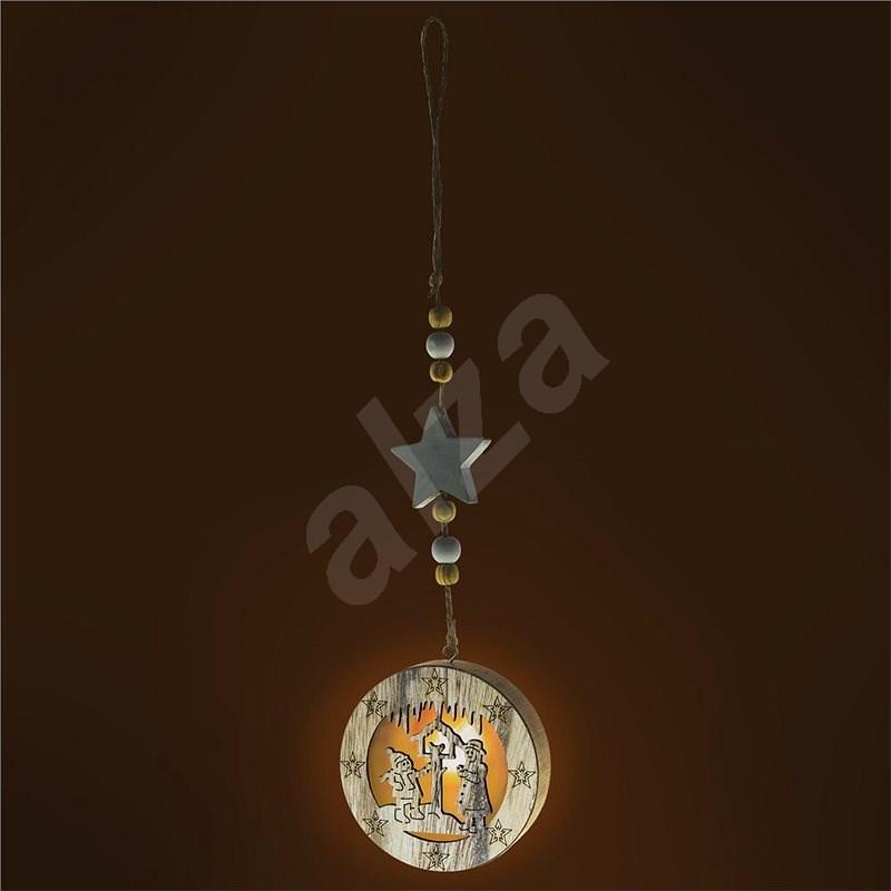 RETLUX RXL 335 ozdoba krmítko dř.1LED WW  - Vánoční osvětlení