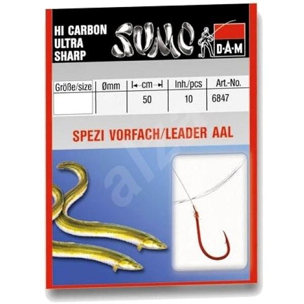 DAM Sumo Spezi Eel Velikost 4 0,30mm 50cm 10ks - Návazec