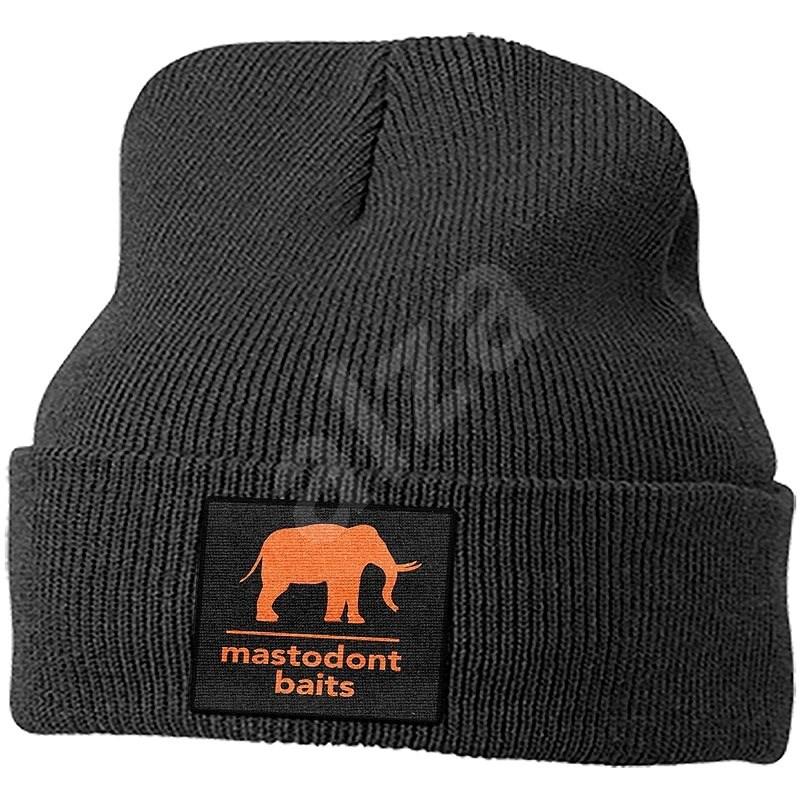 Mastodont Baits Čepice zimní pletená Černá - Čepice