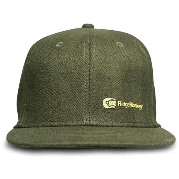 RidgeMonkey APEarel Dropback Snapback Cap Green - Kšiltovka