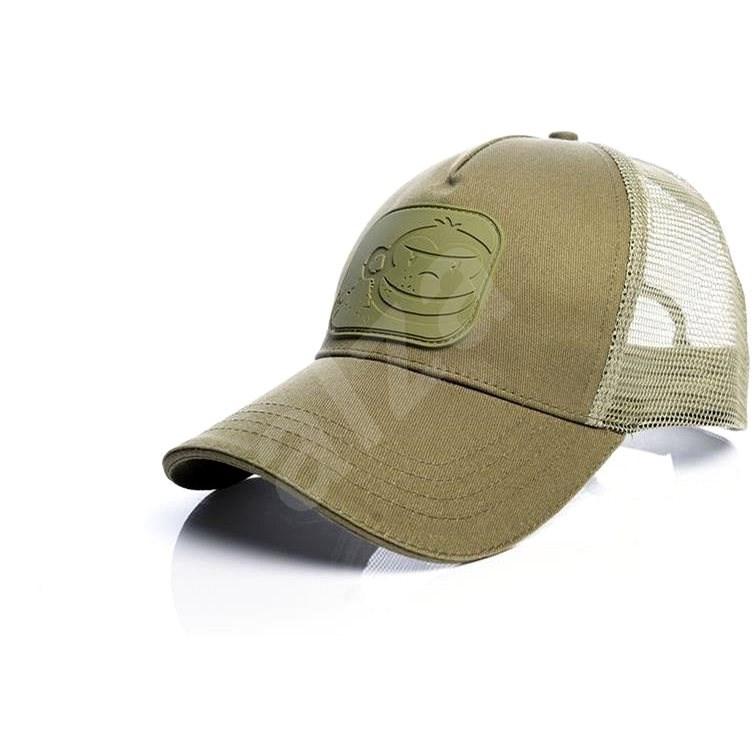 RidgeMonkey APEarel Dropback Pastel Trucker Cap Green - Kšiltovka