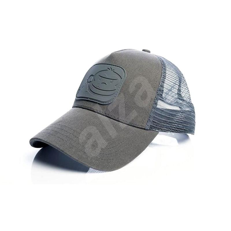 RidgeMonkey APEarel Dropback Pastel Trucker Cap Grey - Kšiltovka