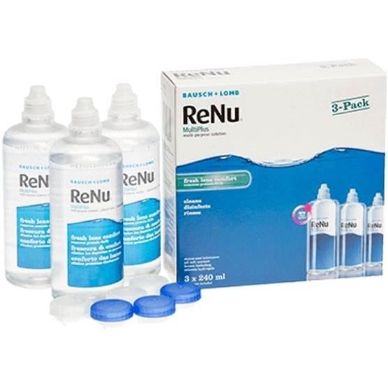ReNu MultiPlus 3-Pack 3x240 ml - Roztok na kontaktní čočky