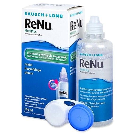 Renu MultiPlus 120 ml - Roztok na kontaktní čočky
