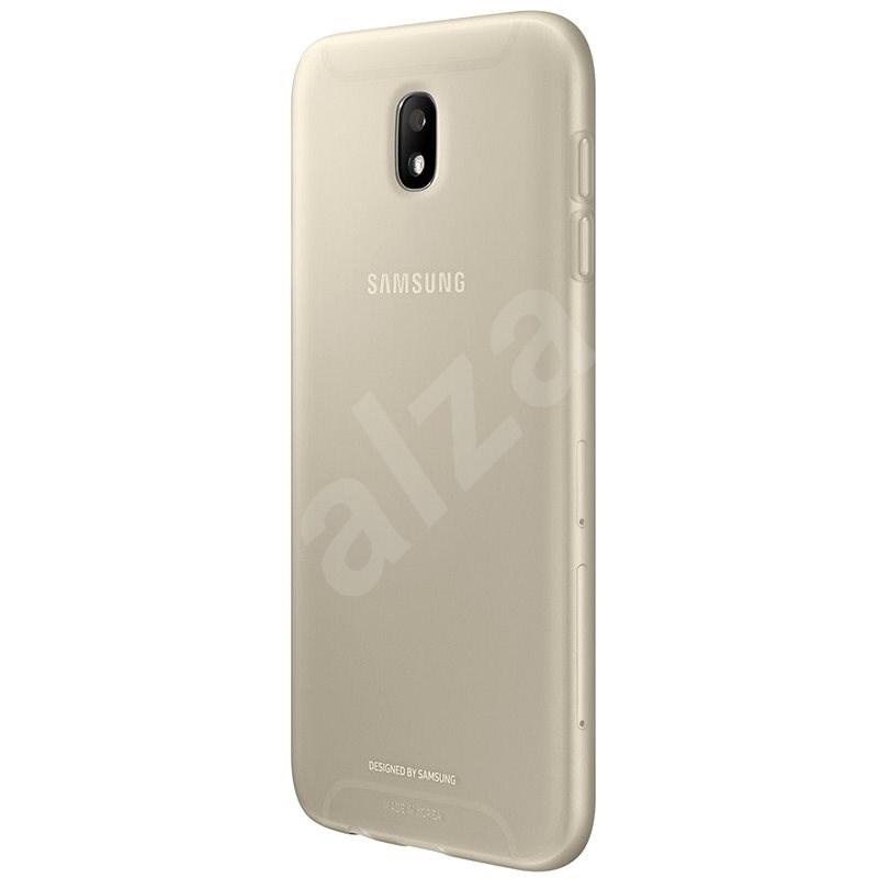 Samsung Jelly Cover pro Galaxy J7 (2017) EF-AJ730T zlatý - Ochranný kryt