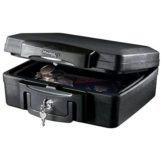 MasterLock H0100EURHRO Bezpečnostní kufr odolný ohni a vodě - Kufr