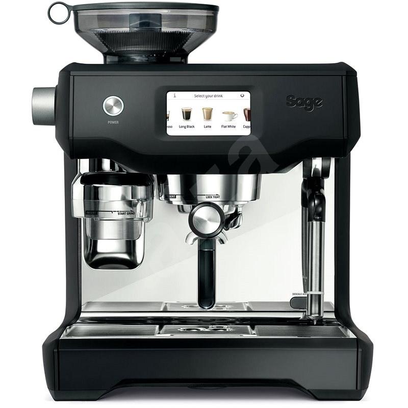 Sage SES990BTR Black Truffle - Pákový kávovar