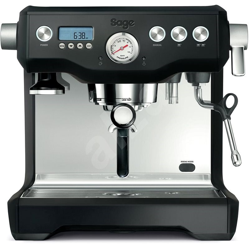 Sage BES920BTR Black Truffle - Pákový kávovar