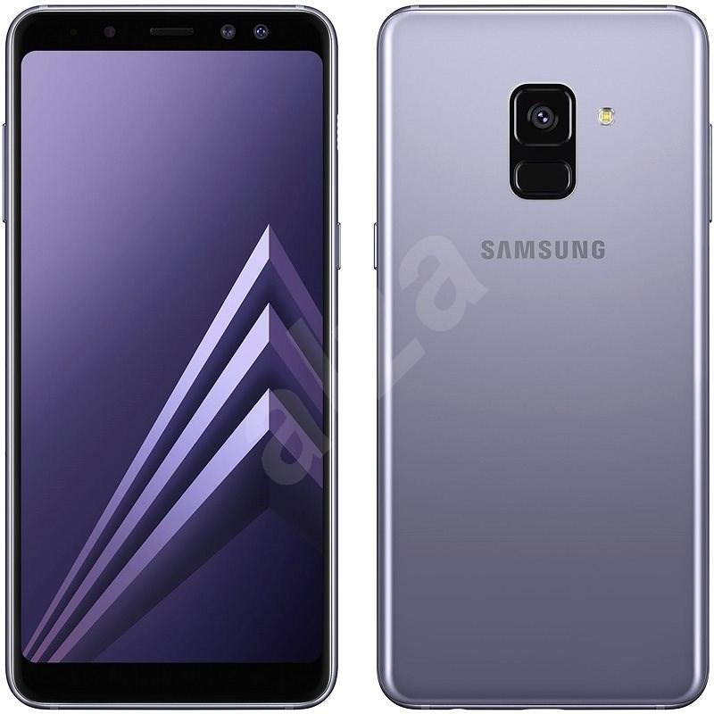 Samsung Galaxy A8 Duos šedý - Mobilní telefon