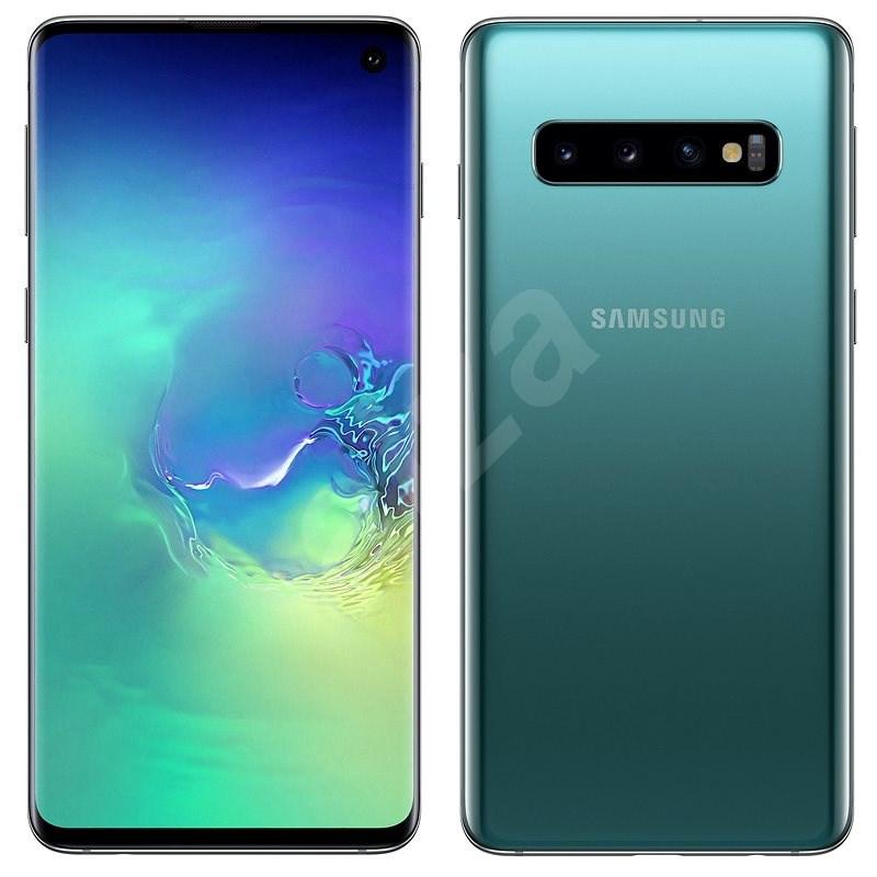 Samsung Galaxy S10 Dual SIM 128GB zelená - Mobilní telefon