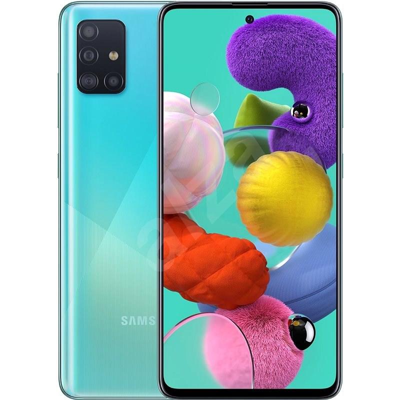 Samsung Galaxy A51 modrá - Mobilní telefon
