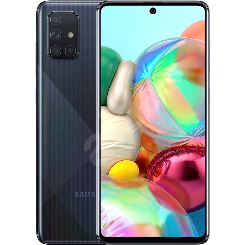 Samsung Galaxy A71 černá - Mobilní telefon