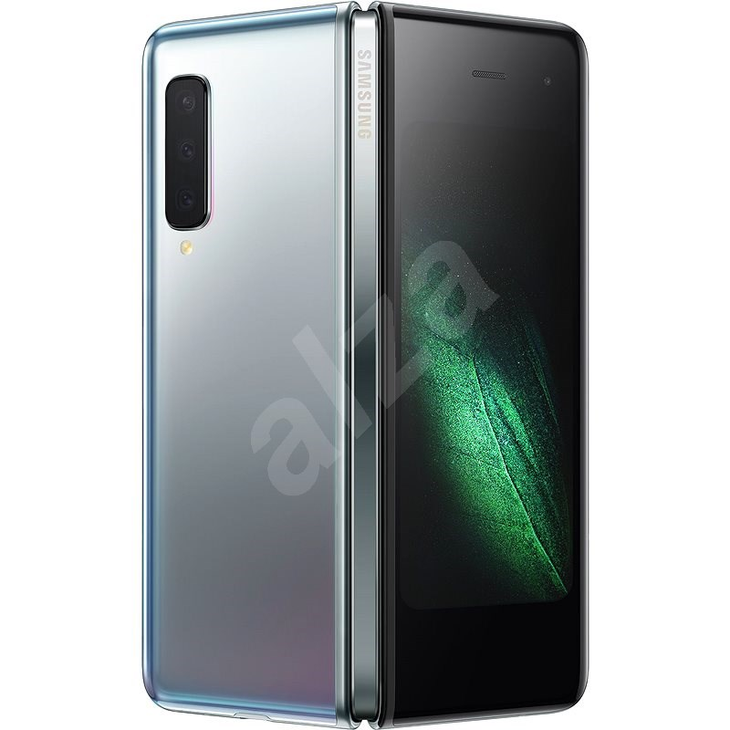 Samsung Galaxy Fold 4G stříbrná - Mobilní telefon
