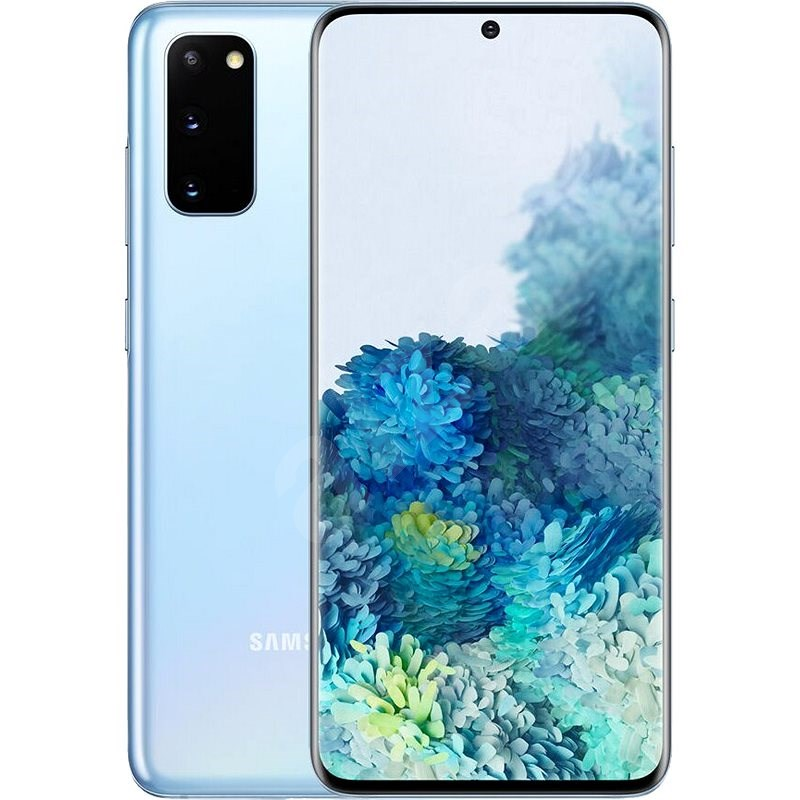 Samsung Galaxy S20 modrá - Mobilní telefon