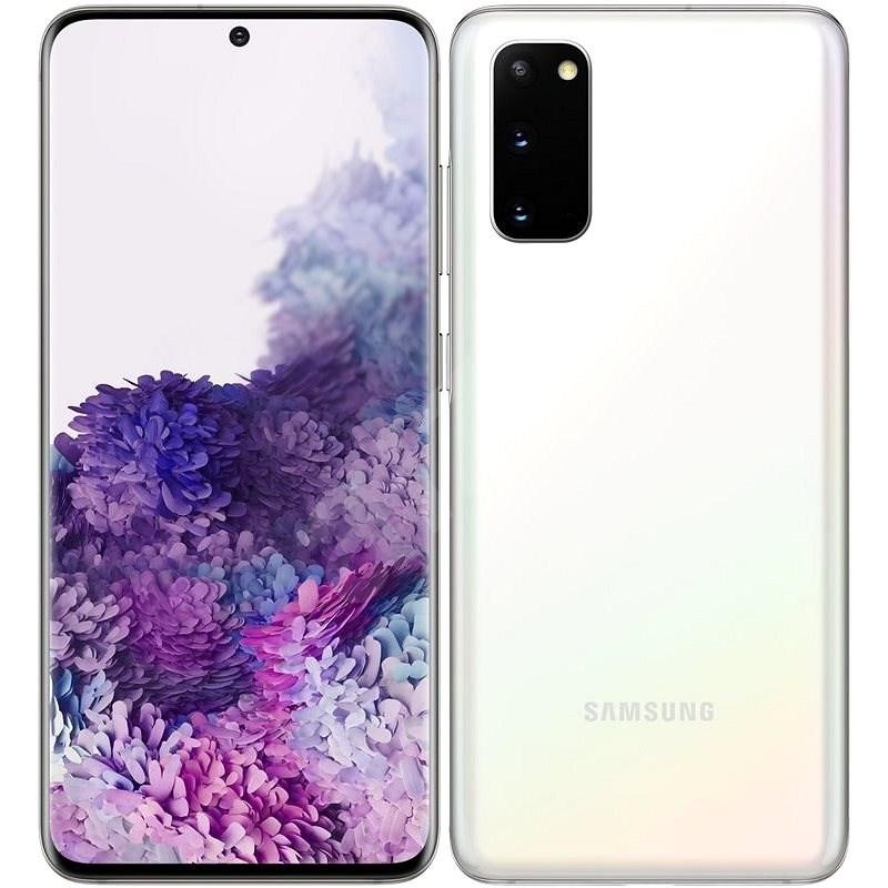Samsung Galaxy S20 bílá - Mobilní telefon