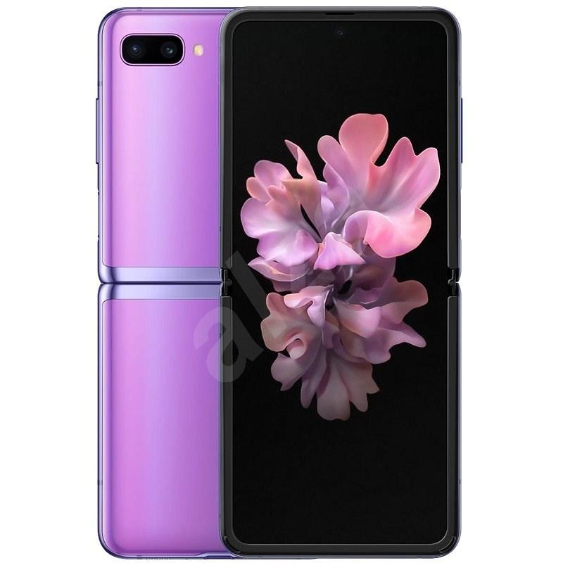 Samsung Galaxy Z Flip fialová - Mobilní telefon