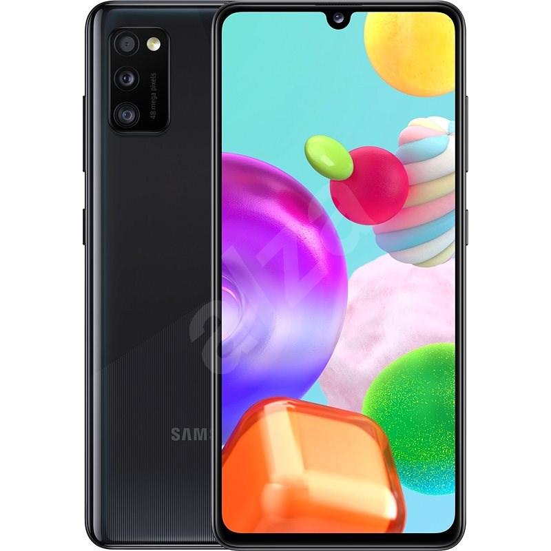 Samsung Galaxy A41 černá - Mobilní telefon