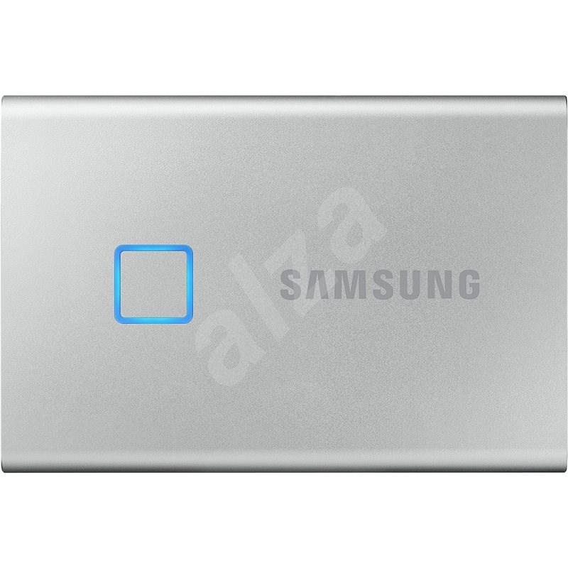 Samsung Portable SSD T7 Touch 500GB stříbrný - Externí disk