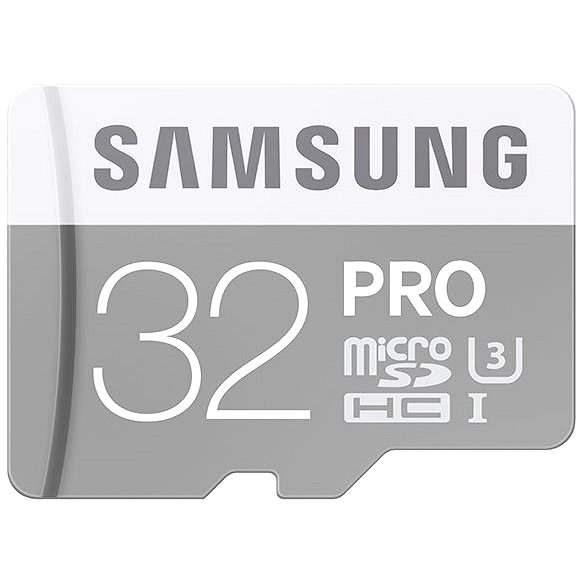 Samsung MicroSDHC 32GB Class 10 PRO U3 + SD adaptér - Paměťová karta