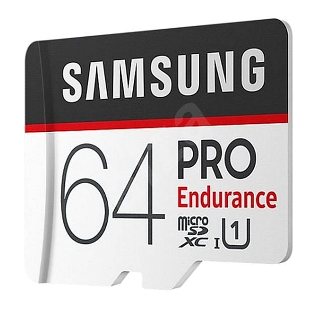 Samsung MicroSDXC 64GB PRO Endurance + SD adaptér - Paměťová karta