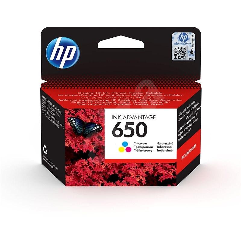 HP CZ102AE č. 650 barevná - Cartridge