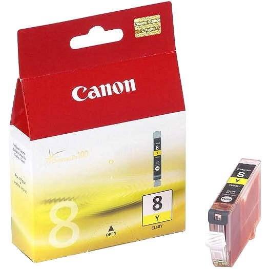 Canon CLI-8Y žlutá - Cartridge