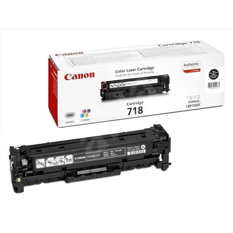 Canon CRG-718BK Dual Pack černý 2ks - Toner
