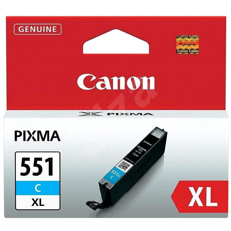 Canon CLI-551C XL azurová - Cartridge