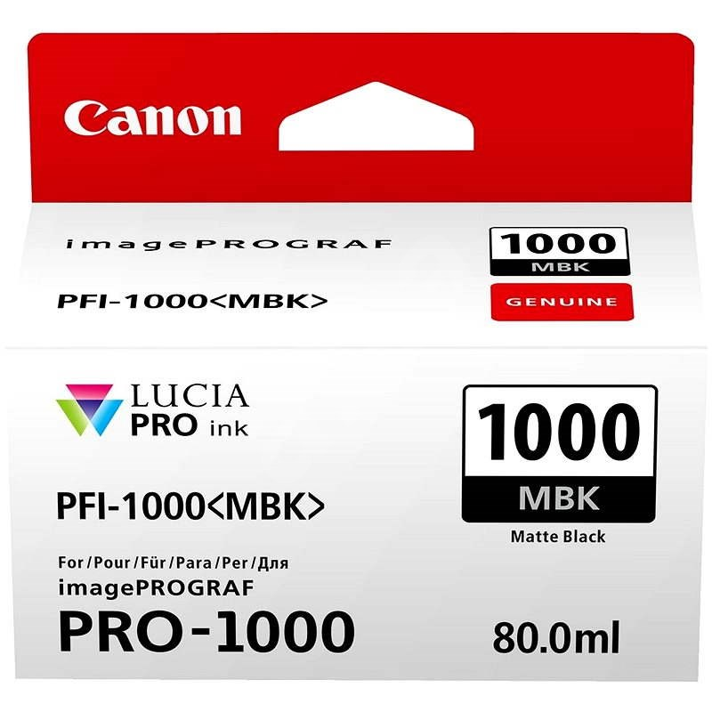 Canon PFI-1000MBK matná černá - Cartridge