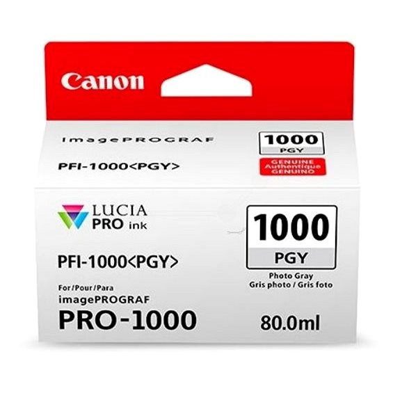 Canon PFI-1000PGY foto šedá - Cartridge