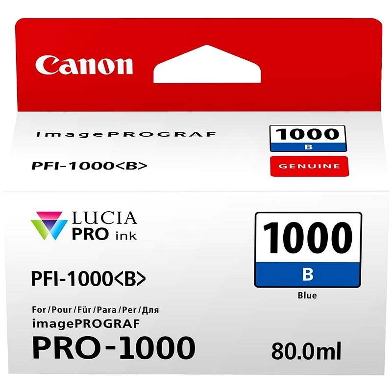 Canon PFI-1000B modrá - Cartridge