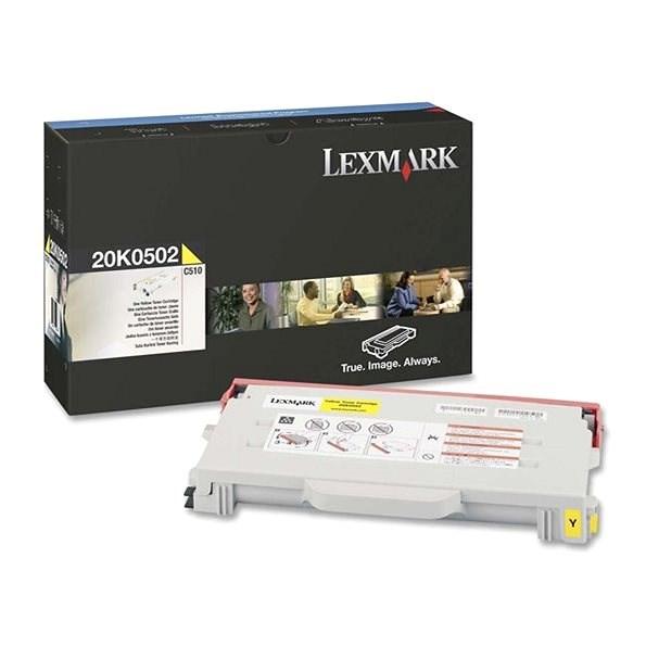 LEXMARK 20K0502 žlutý - Toner