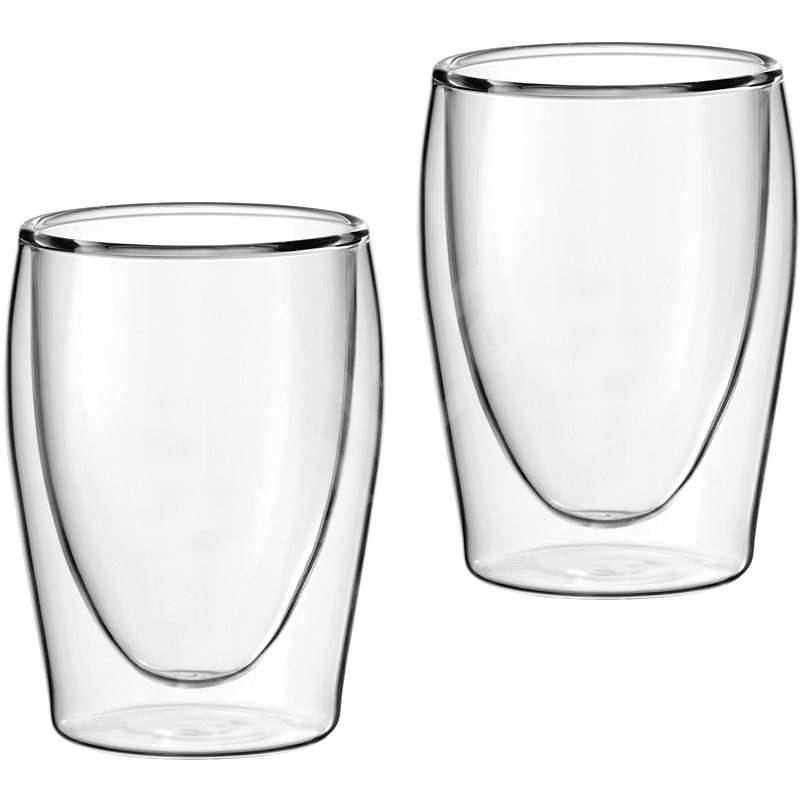 Scanpart Termo skleničky na kávu, 2ks 175ml - Sklenice na teplé nápoje
