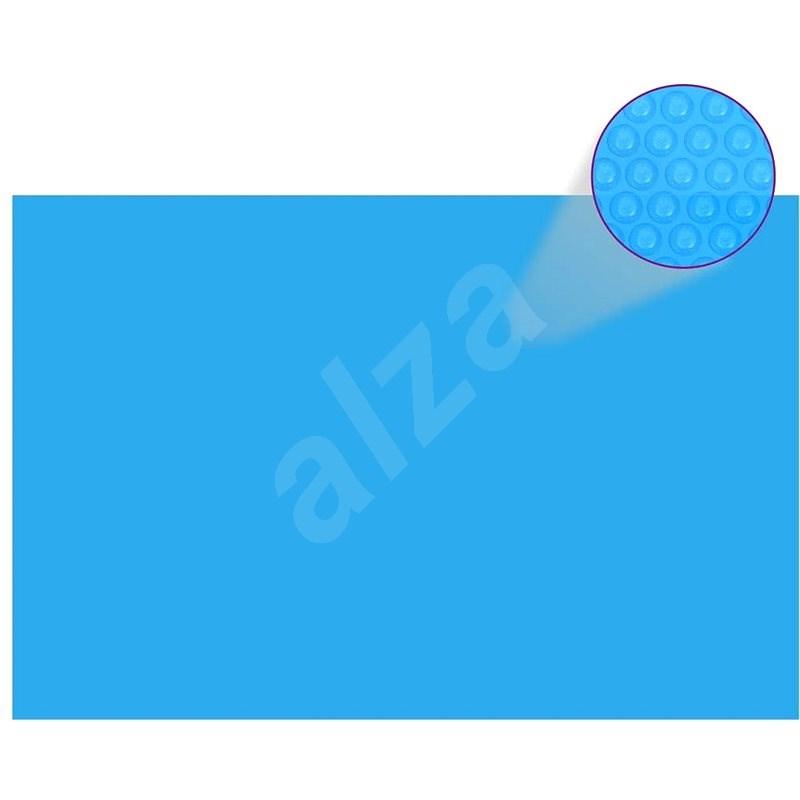 Obdélníkový kryt na bazén 300 x 200 cm modrá PE - Ochranný kryt
