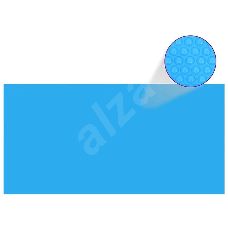Obdélníkový kryt na bazén 549 x 274 cm modrá PE - Ochranný kryt