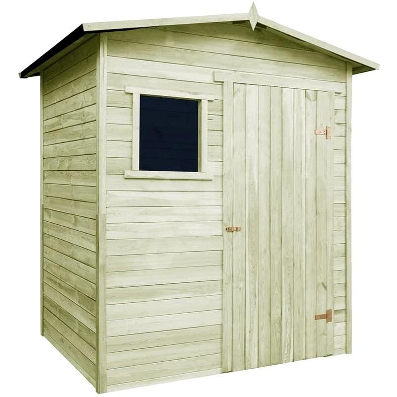 Zahradní domek/kůlna 1,5 x 2 m impregnovaná borovice - Zahradní domek