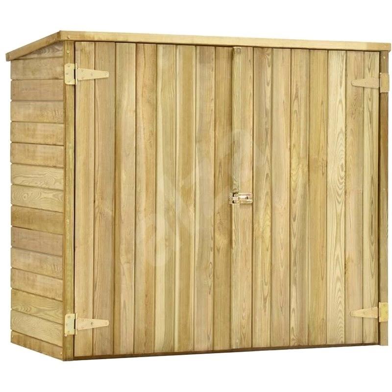Zahradní kůlna na nářadí 135x60x123 cm impregnovaná borovice - Zahradní domek