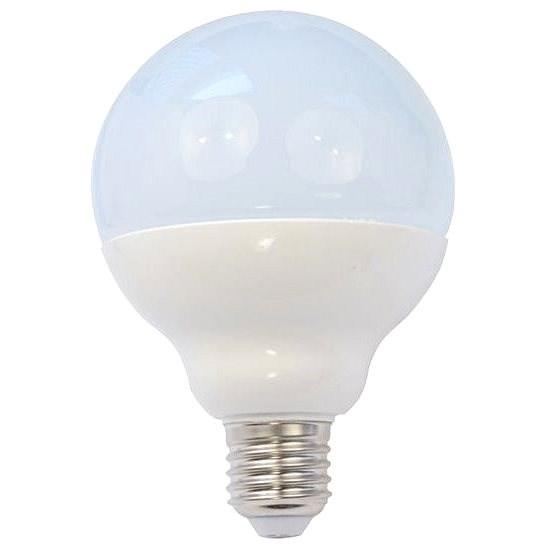 Solight LED žárovka globe E27 15W 3000K - LED žárovka