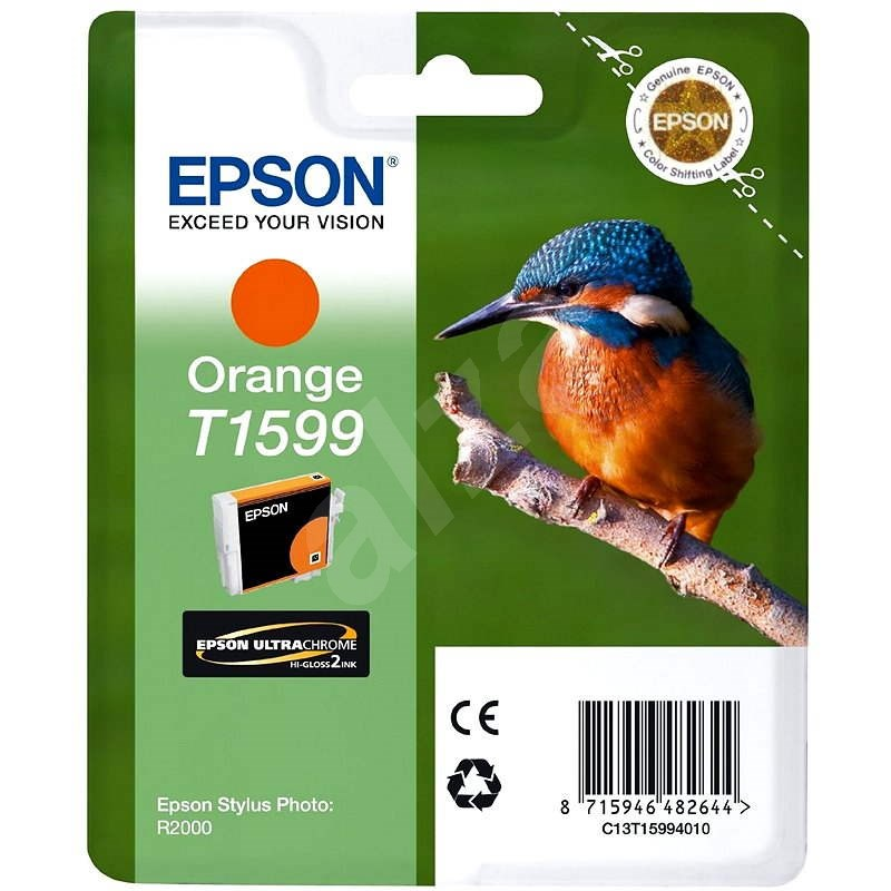 Epson T1599 oranžová - Cartridge