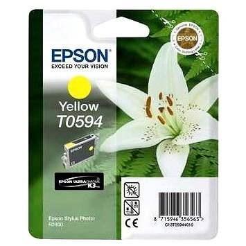 Epson T0594 žlutá - Cartridge