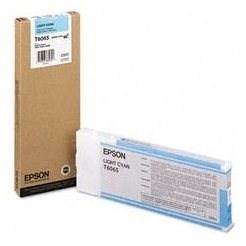 Epson T6065 světlá azurová - Cartridge