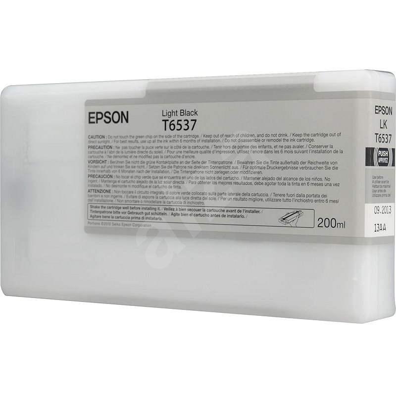 Epson T6537 světle černá - Cartridge