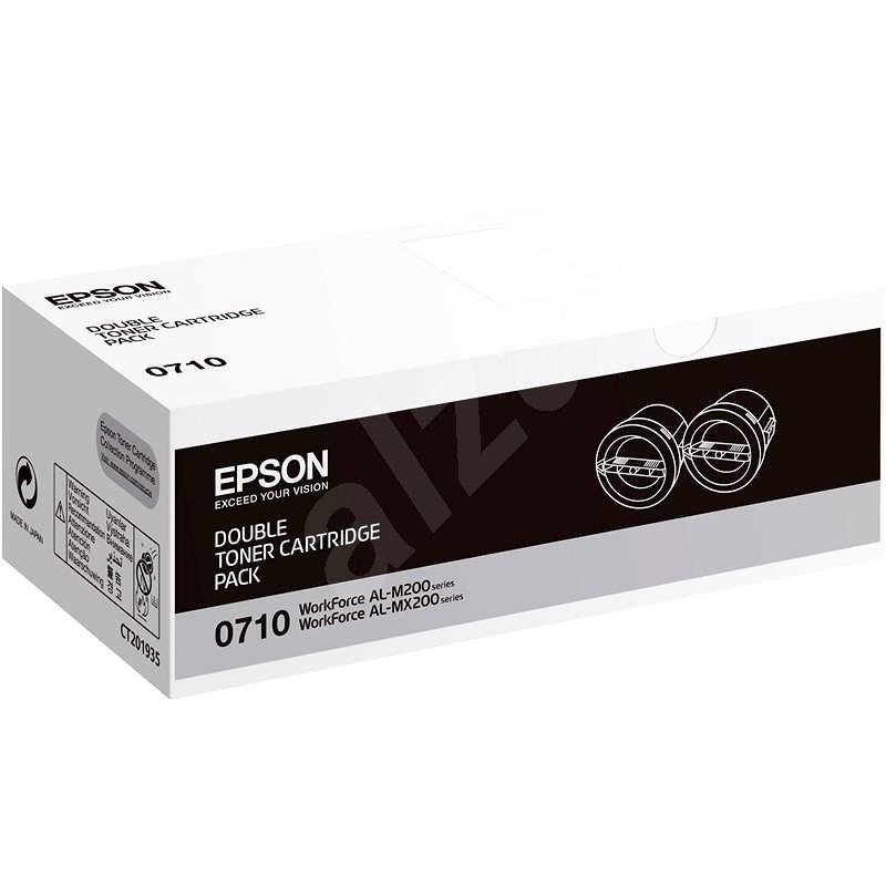 Epson S050710 Dual Pack černý 2ks - Toner