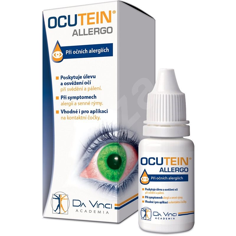 Ocutein ALLERGO oční kapky 15ml DaVinciAcademia - Oční kapky