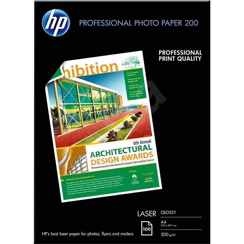 HP Professional Glossy Laser Photo Paper  - Fotopapír