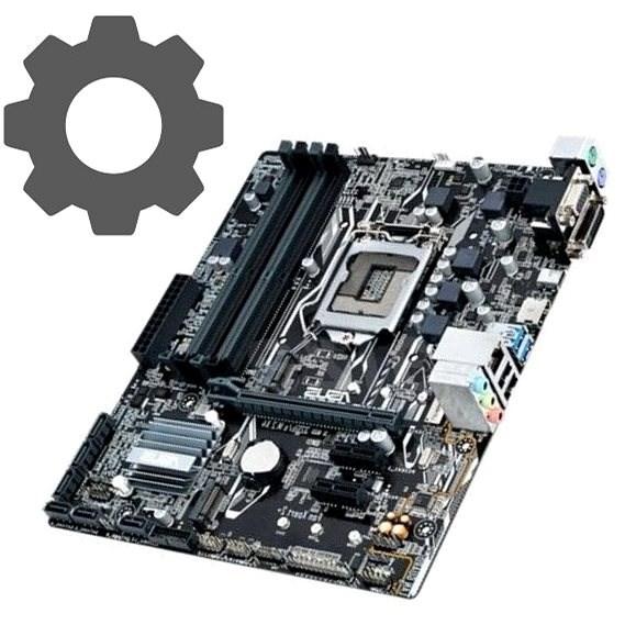 Update BIOS - základní deska - Služba