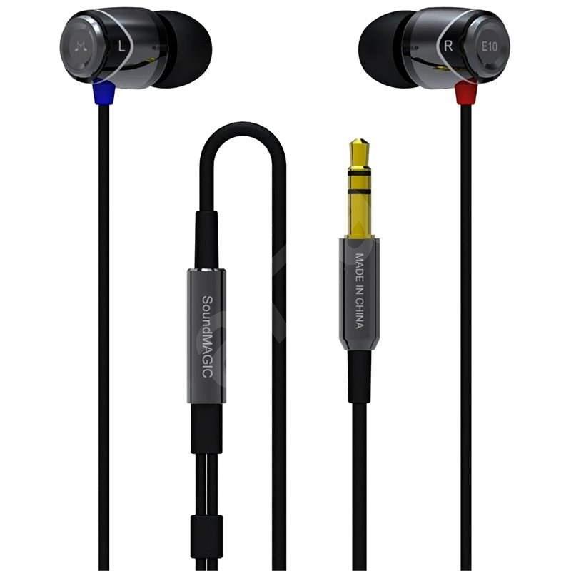 SoundMAGIC E10 černá - Sluchátka