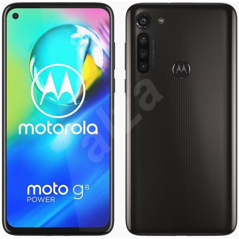 Motorola Moto G8 Power černá - Mobilní telefon