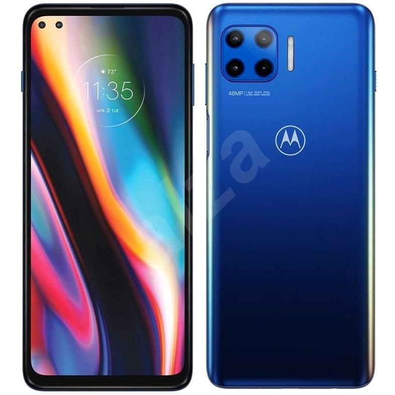 Motorola Moto G 5G Plus modrá - Mobilní telefon
